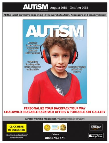 Featured in Autism Asperger's Digest